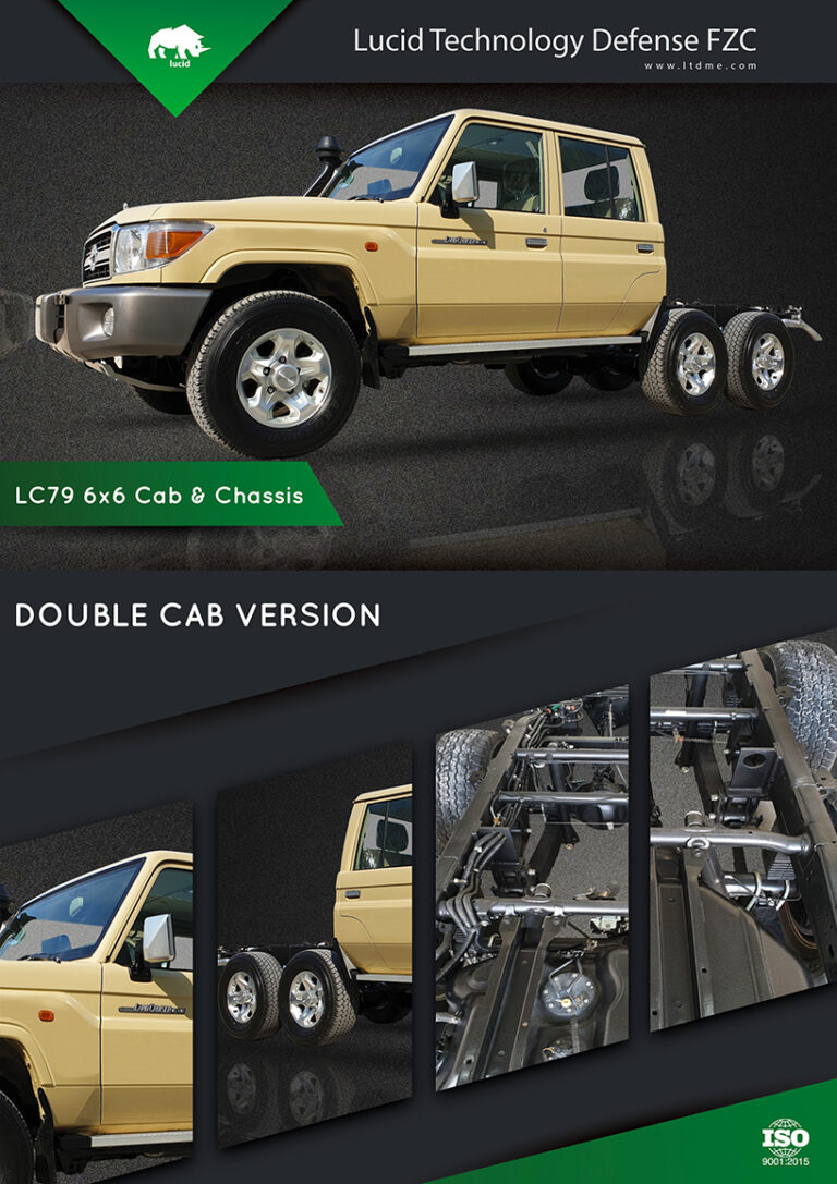 LUCID LC 79 Double Cab 6x6
