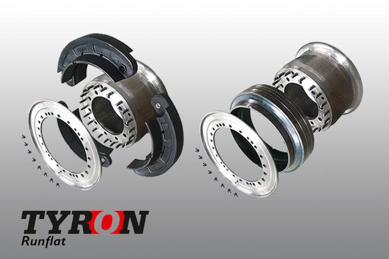 Tyron heavy duty Aluminium wheels (R4)