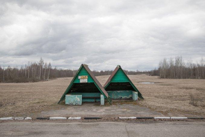 13. Gali, Belarus'tan otobüs durağı. Fotoğraf: Christopher Herwig.