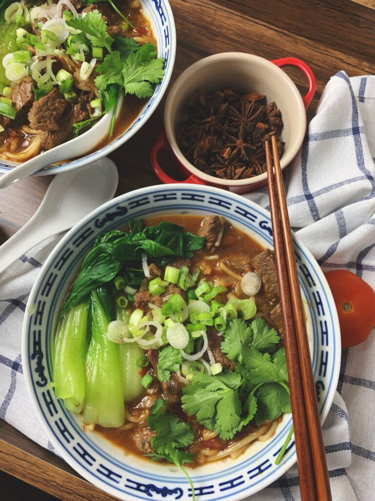 Taiwnese Beef Noodle Soup Recipe