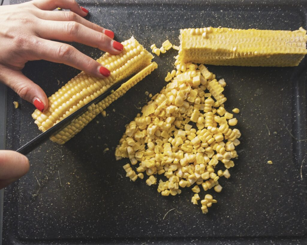 Charred Corn with Miso Butter Recipe