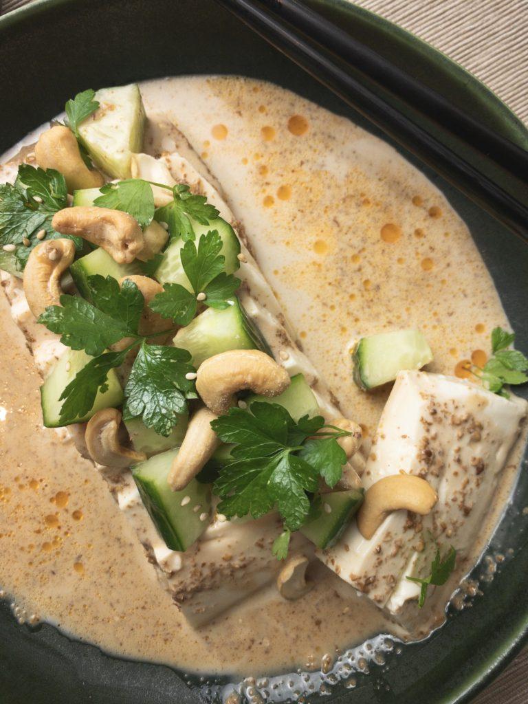 Chilled Tofu with Bang-Bang Sauce Recipe