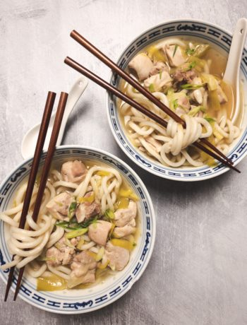 Chicken Udon Soup Recipe