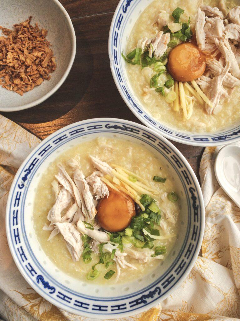 Chicken Rice Porridge Recipe