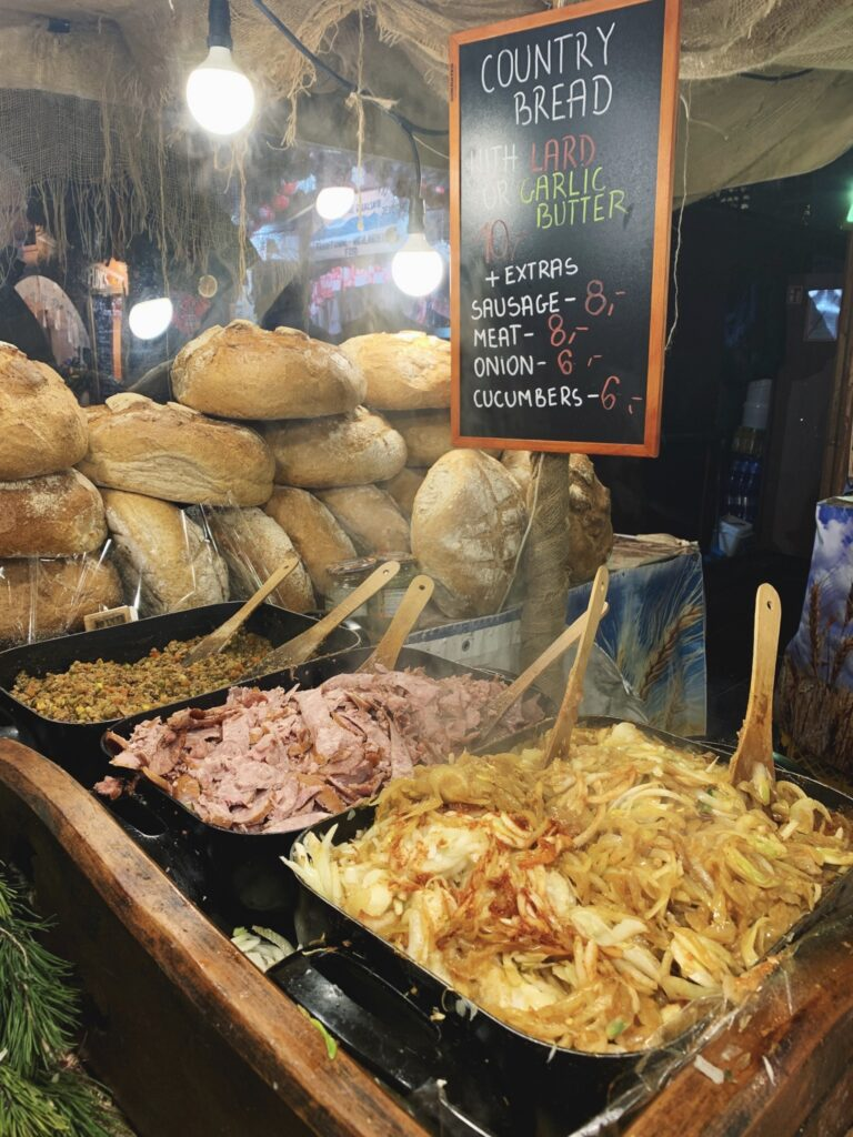 Krakow Christmas Market Food