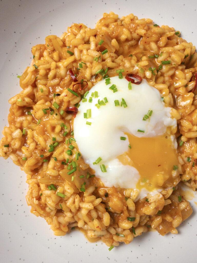Kimchi Risotto Recipe