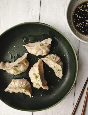 Pork and Chives Dumplings (Jiao Zi) Recipe