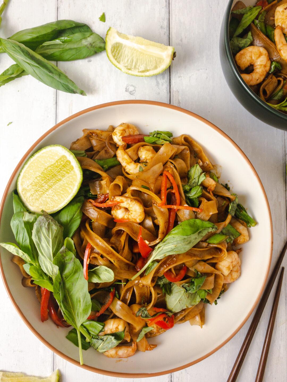 Thai Drunken Noodles (Pad Kee Mao)