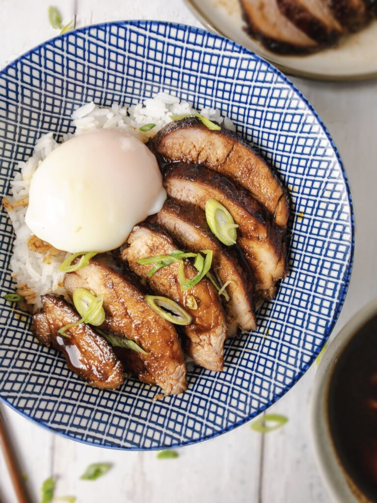 Saucy Char Siu Rice Bowl