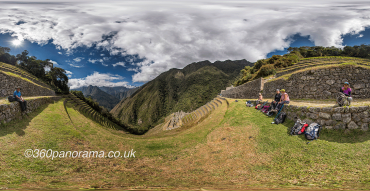 Winey Wayna on the classic Inca Trail to Machu Picchu