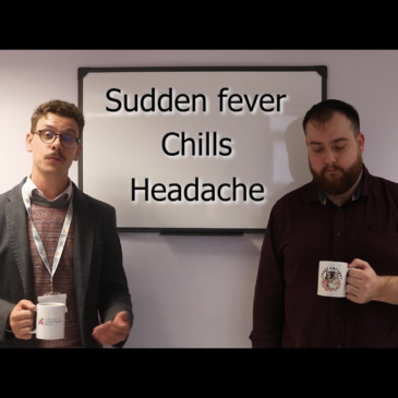 Flu information video staring Dr Foster