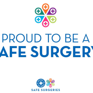 Proud to be a Safe Surgery