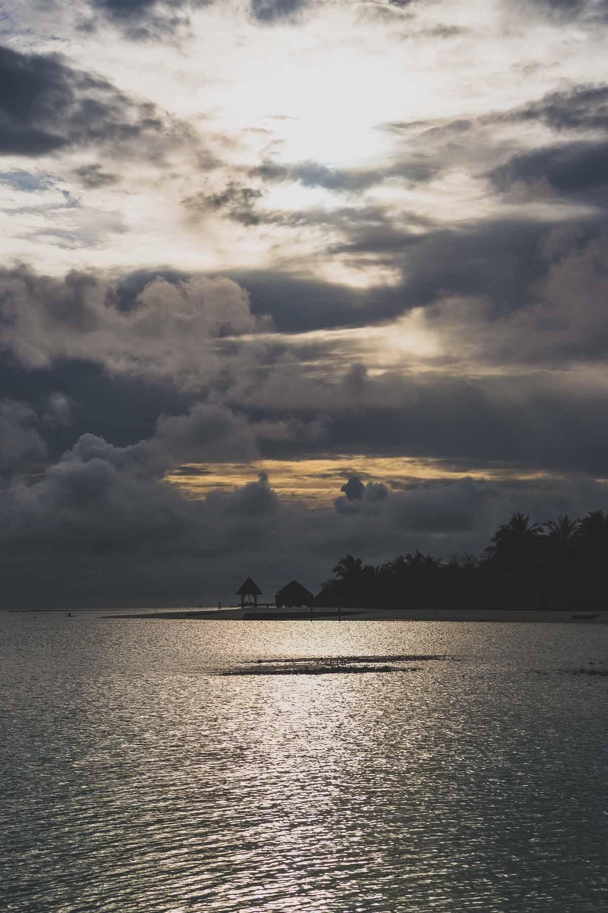 Anantara Dhigu Sunset