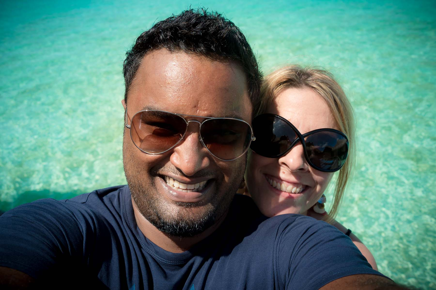 Selfie Nikon D4s Maldives