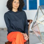 Director of Athr Gallery, Alia Fattouh (Jeddah, Saudi Arabia)
