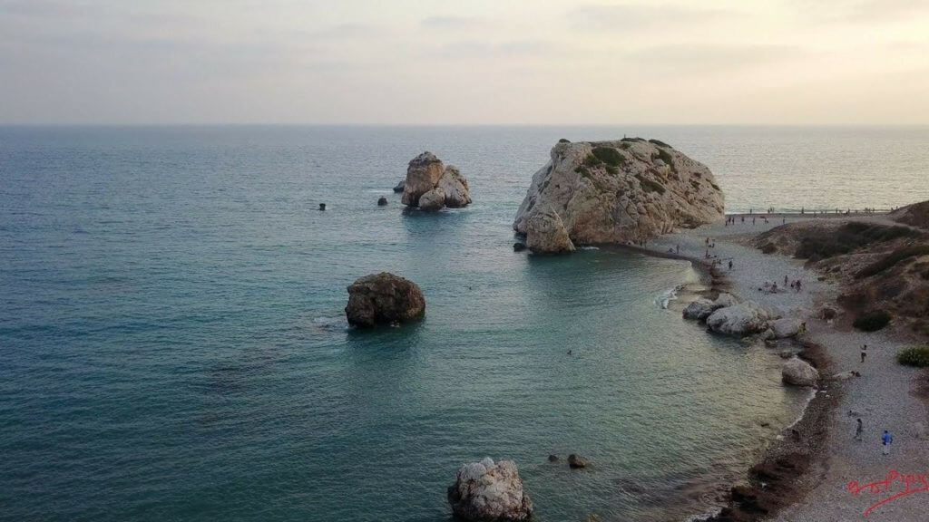 Petra tou Romiou - Aphrodite's Rock and Birthplace The Island of Cyprus