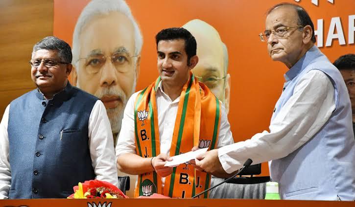 Gautam Gambhir Joining BJP