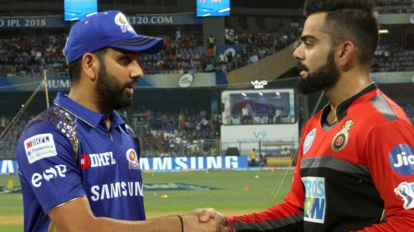 Virat Kohli and Rohit Sharma IPL