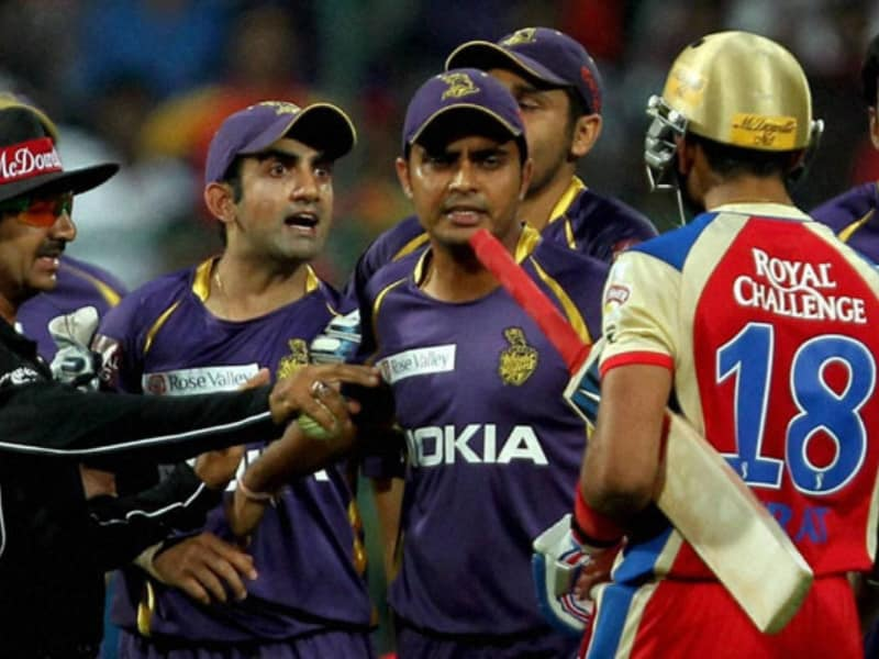 Virat and Gambhir Fight