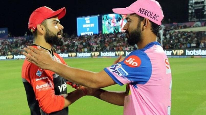 RCB vs RR IPL 2019