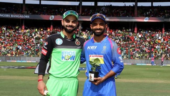 RR vs RCB IPL 2019