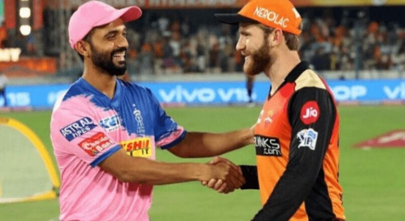 RR vs SRH IPL 2019