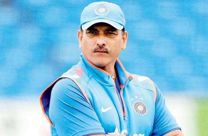Ravi Shastri hits 6 sixes