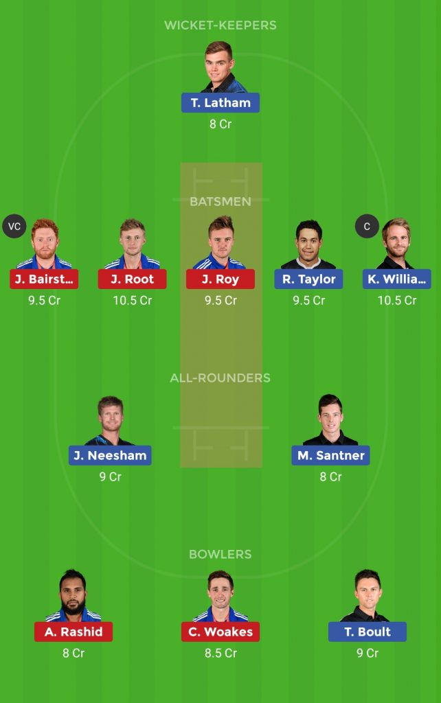 Small League Team ENG vs NZ