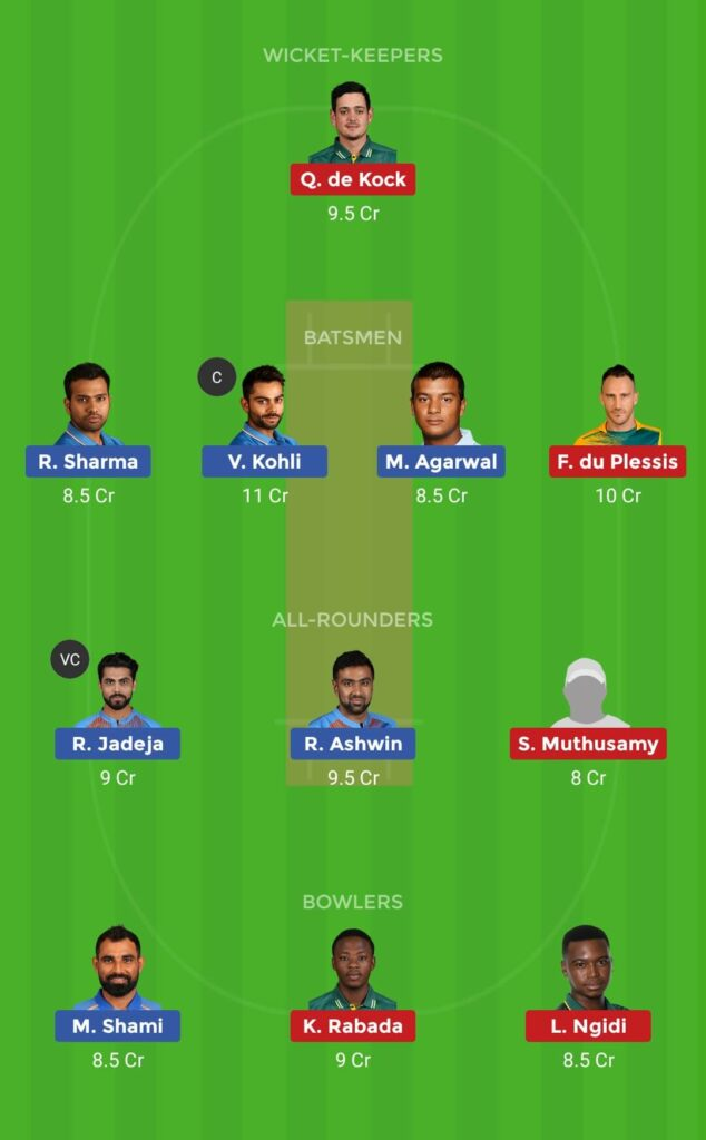 Small League IND vs SA