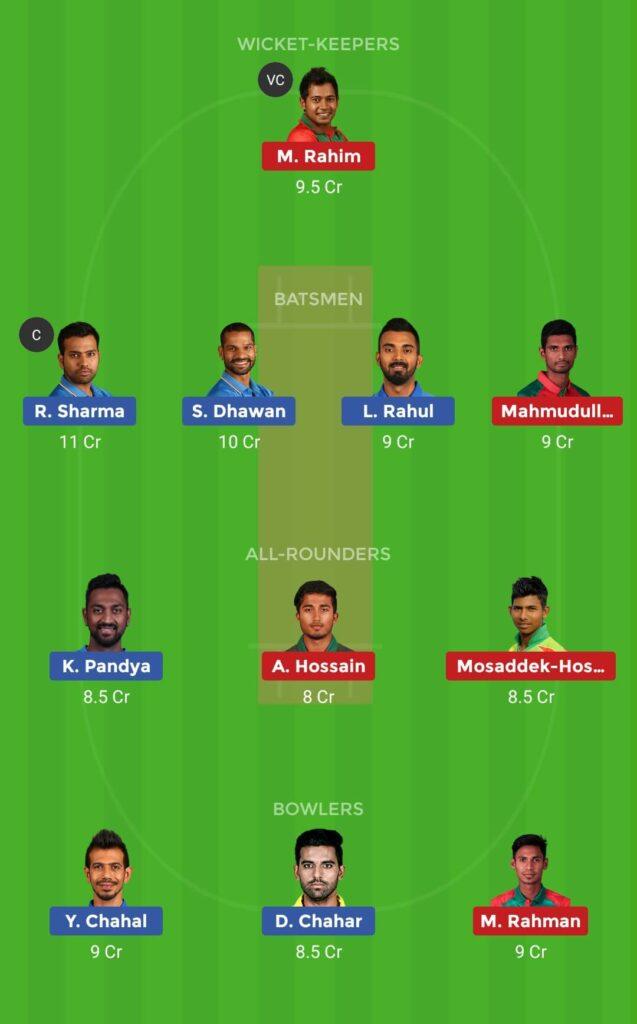 Small League Team India vs Bangladesh 1st T20I