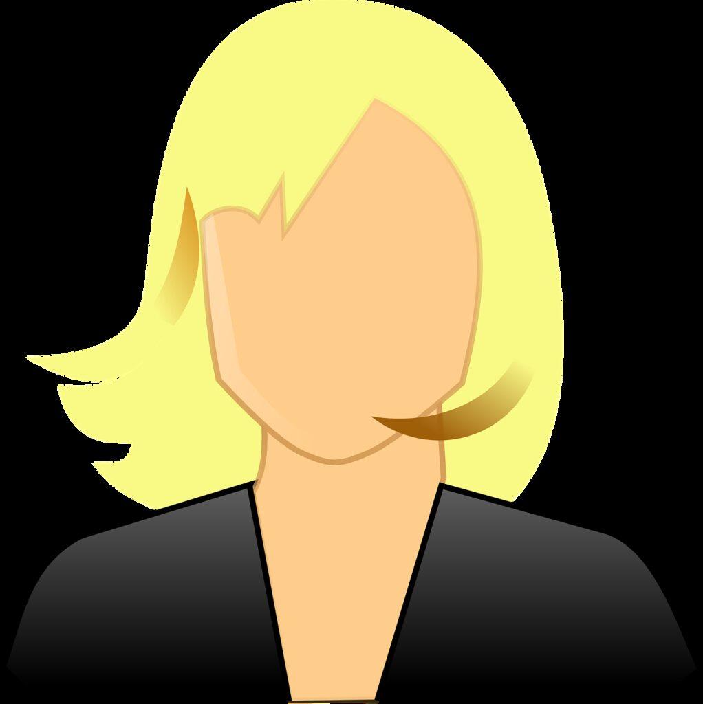 user, avatar, female