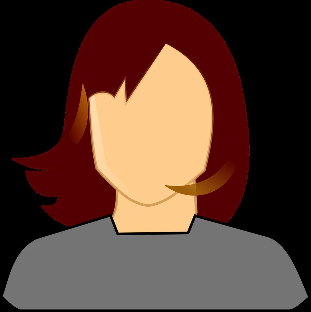 woman, redhead, female
