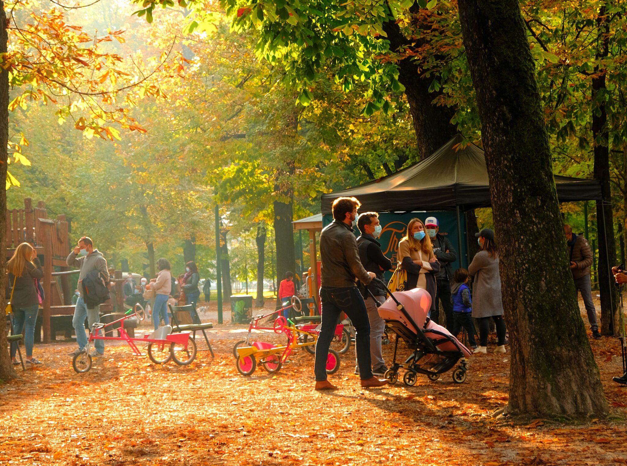 Giardini Indro Montanelli - City park Milan