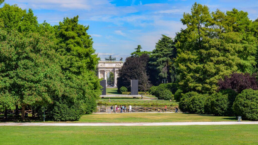 parco Sempione - City park Milan