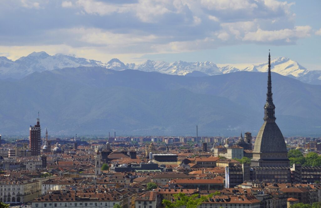 Torino's Landscape discovery of Turin