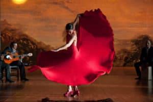 bailarines profesionales de flamenco