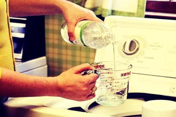 vinagre para ponerlo en la lavadora