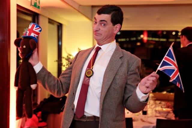 Mr Bean Impersonator Party and Wedding London, Surrey, Richmond, Twickenham.