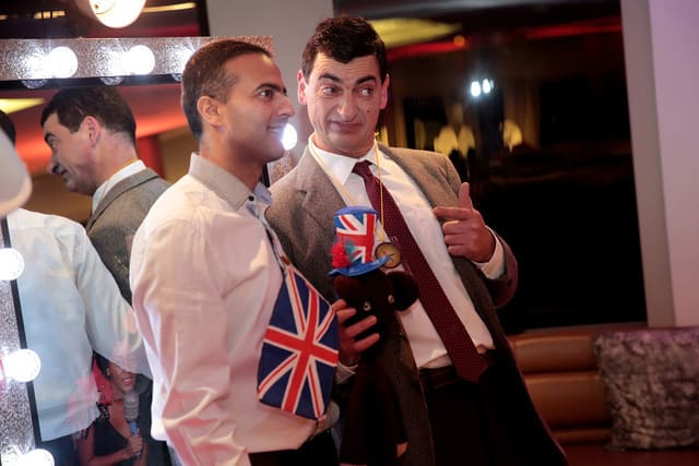 Mr Bean Impersonator Party and Wedding London, Surrey, Richmond, Twickenham.