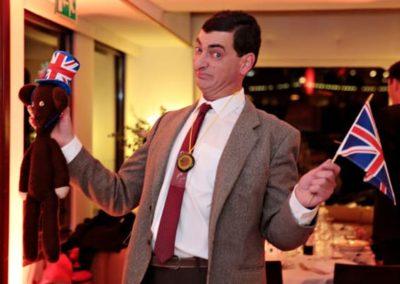 Mr-Bean lookalike smiling Eventastic
