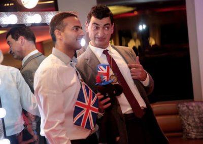 Mr-Bean lookalike with me Eventastic
