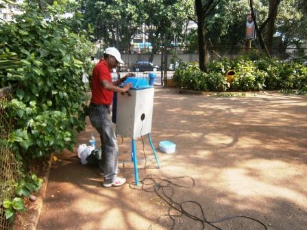 Environmental Monitoring Data Collection