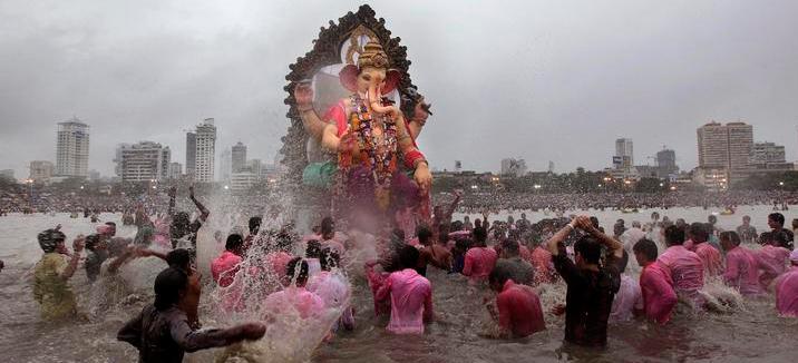 Ganesh Festival - Visarjan ceremony
