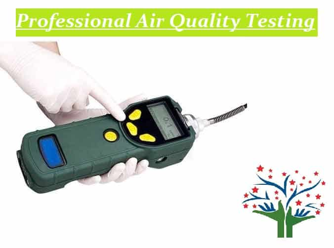 VOC meter - Professional air Quality Testing - Perfect Pollucon Services