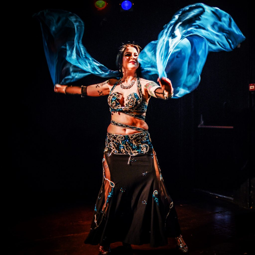 Victoria Belly Dancer performing at Lets Belly Dance Show in London