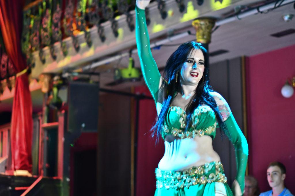Victoria Belly Dancer Performing at Arab Quarterly