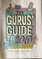 The Gurus Guide to 2019- sharing a magazine article