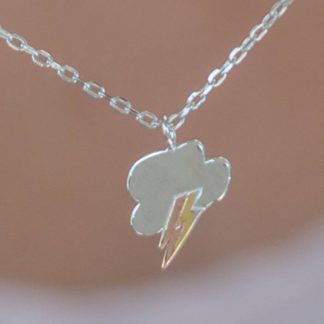 storm cloud necklace