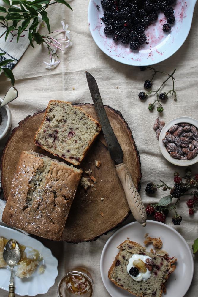 blackberry almnd cake with jasmin honey-1-24