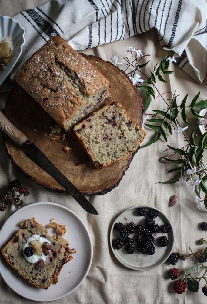 blackberry almnd cake with jasmin honey-1-25